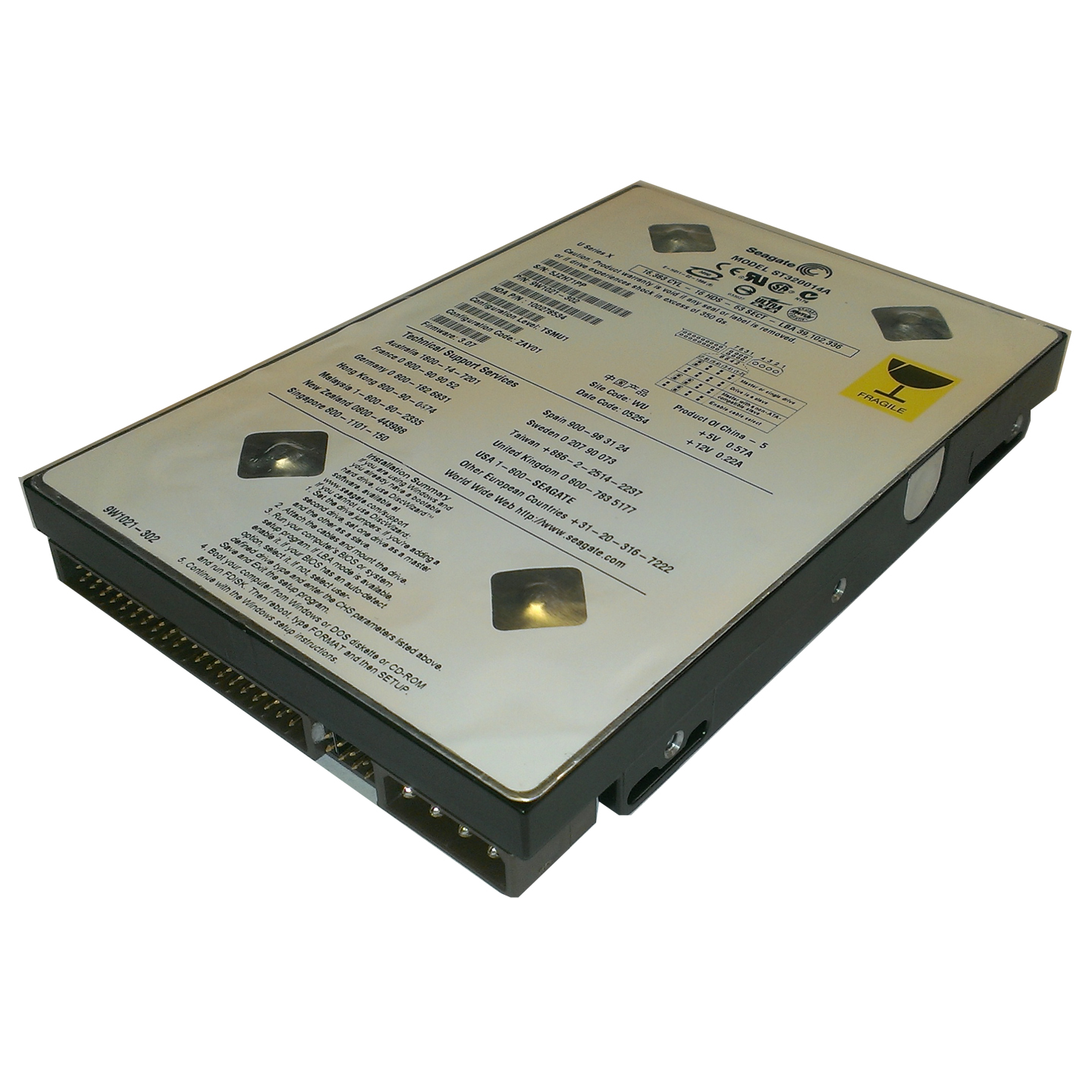 3Com NBX V3000 Analog Replacement Hard Disk FRU